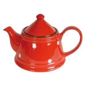 Ceainic din ceramică Antic Line Tea Red, 480 ml, roșu