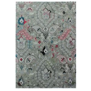Covor țesut manual Flair Rugs Persian Fusion, 200 x 290 cm, gri
