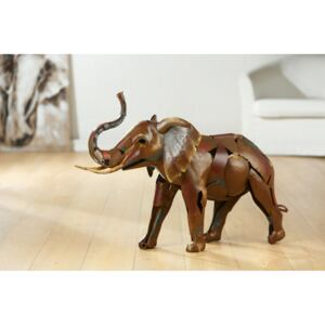 Figurina SAVANNA, metal, lucrat manual, 66X68X66 cm