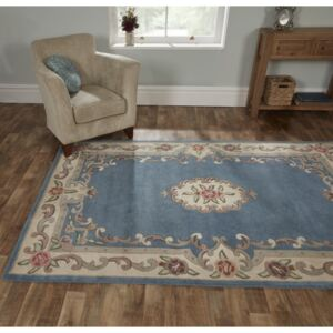 Covor din lână Flair Rugs Aubusson Blue, 75 x 150