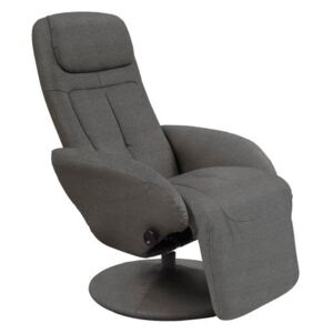 Fotoliu recliner stofa gri Optima 2