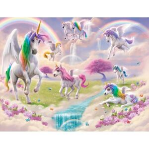Tapet Magical Unicorn, 304.8 x 243.8 cm