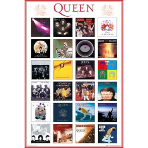 Queen - Covers Poster, (61 x 91,5 cm)