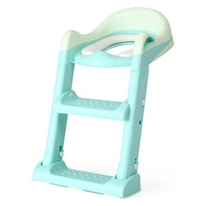 Reductor toaleta cu 2 trepte Little Mom Training Seat Green
