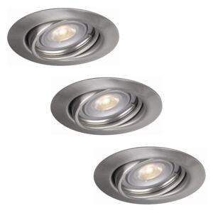 Philips Massive 59803/17/10 - SET 3x LED lampa incastrata OPAL 3xGU10/3,5W