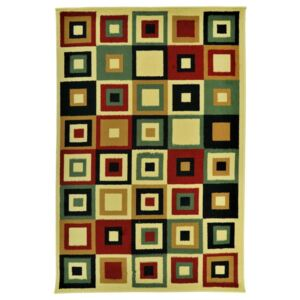 Covor Modern & Geometric Levels, Multicolor, 100x150