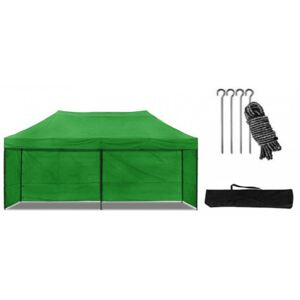 Cort pavilion 3x6 m verde All-in-One