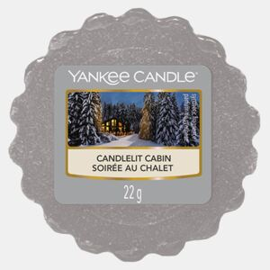 Vosk Yankee Candle Candlelit Cabin gri