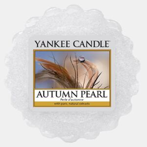 Vosk Yankee Candle Autumn Pearl alb