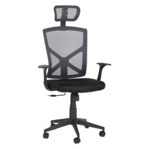 Scaun Smart Office ERGONOMIC, Mesh Negru