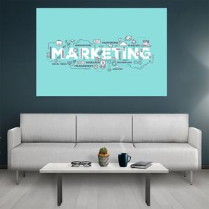 Tablou canvas Motivational Marketing