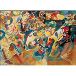 Study for composition VII Reproducere, Kandinsky, (80 x 60 cm)