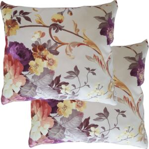 Set 2 pernute decorative model floral New York Modella, 35 x 35 cm, textil