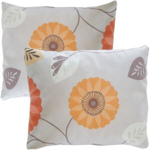 Set 2 pernute decorative model floral c20 Modella, 35 x 35 cm, textil