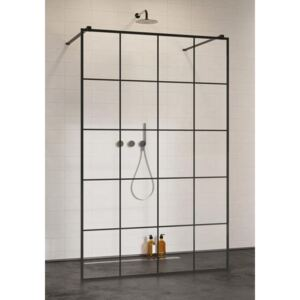 Cabina dus Walk-In Radaway Modo New Black I Factory, 120 x H200 cm