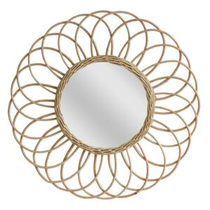 Oglinda din salcie 50 cm Willow Mirror Round HK Living