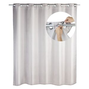 Polyester Shower Curtain Comfort flex taupe