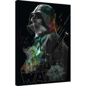 Tablou Canvas Rogue One: Star Wars Story - Darth Vader Lines, (60 x 80 cm)