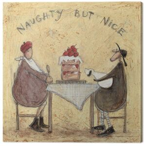 Sam Toft - Naughty But Nice Tablou Canvas, (30 x 30 cm)
