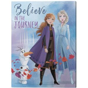 Frozen 2 - Believe in the Journey Tablou Canvas, (60 x 80 cm)