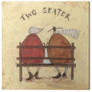 Sam Toft - Two Seater Tablou Canvas, (30 x 30 cm)