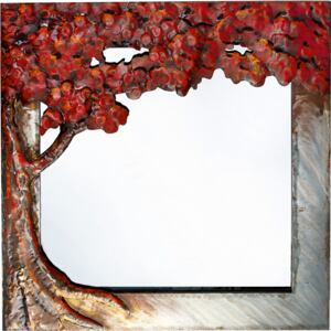Oglinda INDIAN SUMMER metal 100x5x100 cm