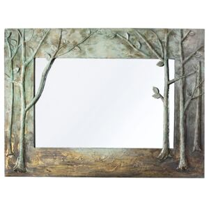 Oglinda MIRROR OF NATURE metal 120x5x90 cm