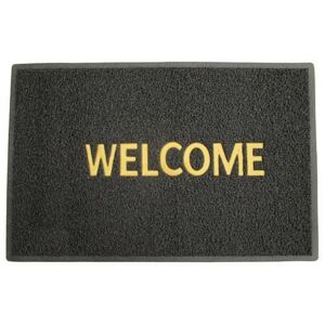 Covoras usa intrare, pvc, 60x90 cm, Welcome