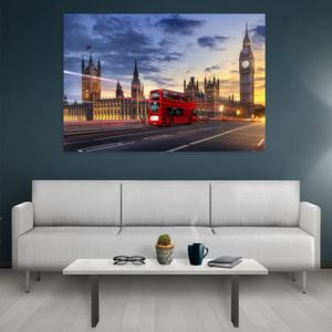 Tablou canvas London Bus