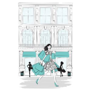 Ilustrare Shop New York, Martina Pavlova