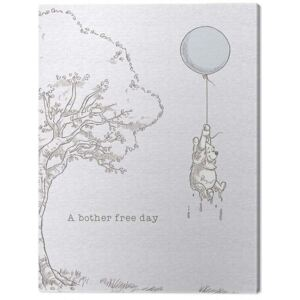 Tablou Canvas Winnie The Pooh - Bother Free, (60 x 80 cm)