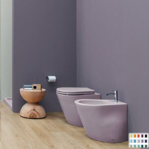Vas WC Back to wall WC and Bidet Nic Design