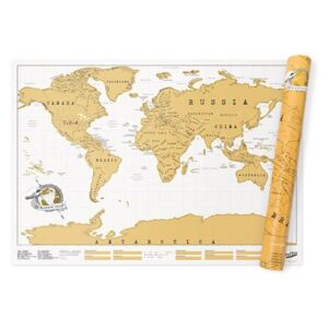 Scratch Map World