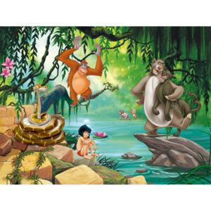 Buvu Fototapet vlies: The Jungle Book - 360x270 cm