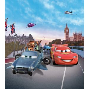 Buvu Fototapet vlies: Cars in London - 180x202 cm
