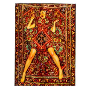 Covor 280x194 cm Lady on Carpet Toiletpaper Seletti