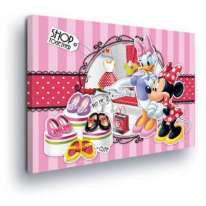 GLIX Tablou - Disney Pink World by Minnie Mouse II 60x40 cm