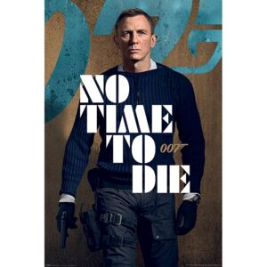 James Bond: No Time To Die - James Stance Poster, (61 x 91,5 cm)