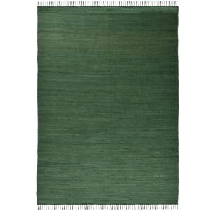Covor Unicolor Happy Cotton, Verde, 40x60 cm