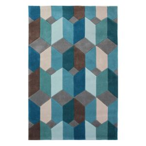 Covor Flair Rugs Scope, 80 x 150 cm, albastru
