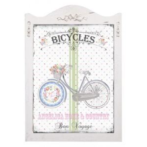 Tablou decorativ Shabby Chic - Bicicleta