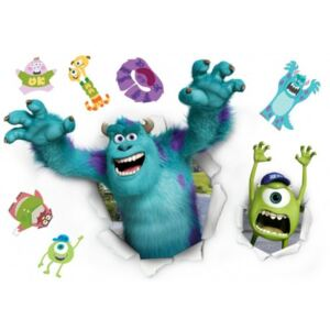 Stickere perete Monsters University