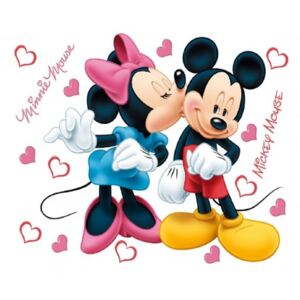 Sticker perete Minnie si Mickey Mouse