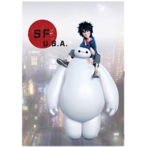 Sticker perete Baymax