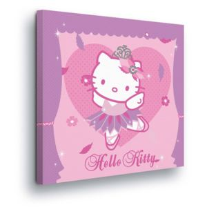 GLIX Tablou - Purple Dancer Hello Kitty 80x80 cm