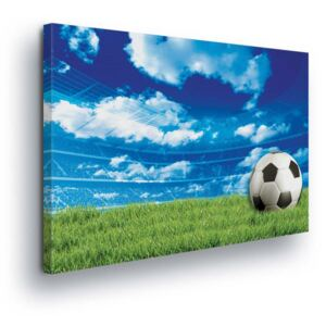 GLIX Tablou - Football field 2 x 40x60 / 2 x 30x80 / 1 x 30x100 cm