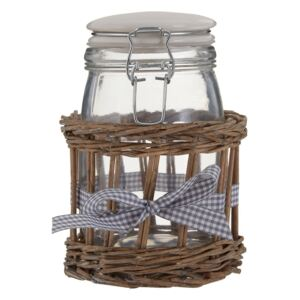 Recipient din sticlă Premier Housewares Country Cottage, 1 l