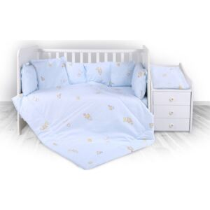Lorelli set lenjerie pentru patut Trend - Bear Party Blue