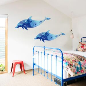 Sticker perete Dolphin