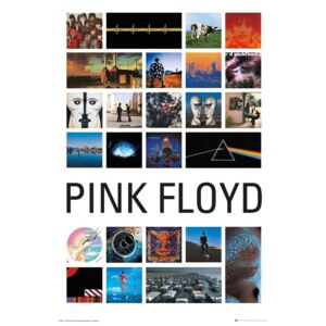 Pink Floyd - Collage Poster, (61 x 91,5 cm)